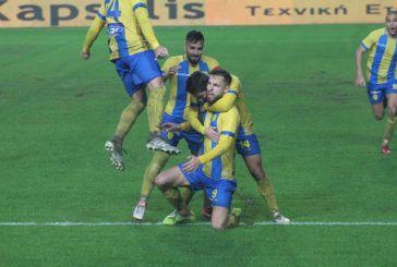 Παναιτωλικός – ΟΦΗ 2-0: Στη λάσπη βρήκε την πρώτη νίκη