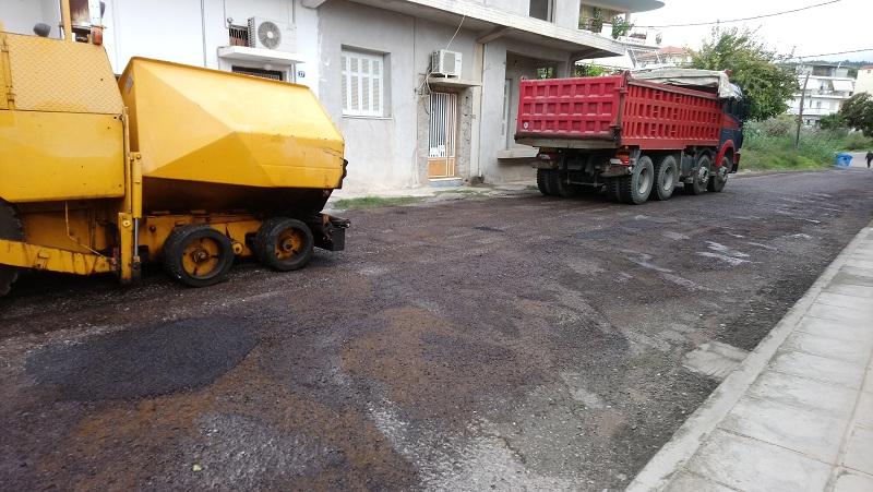 Αγρίνιο: Επιτέλους ξεκίνησε το έργο στην πάροδο Σισμάνη
