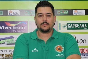"""Θοδωρής Γιαννακόπουλος (ΑΟ Αγρινίου): """"Να κλείσουμε με νίκη το ημερολογιακό έτος"""" (video)"""