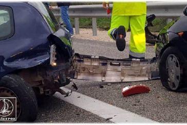 Τροχαίο ατύχημα στην Ιόνια Οδό