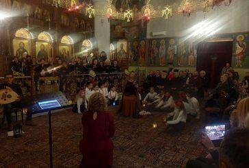 """""""Και πάλι κίνησα να 'ρθω Χριστέ μου στην αυλή του"""" στον Ι.Ν. Αγίου Κωνσταντίνου & Ελένης Αγρινίου (φωτο)"""