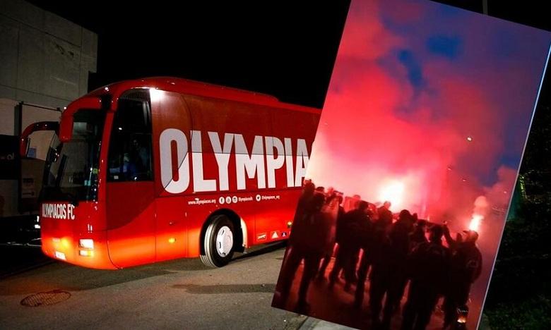 Υποδέχτηκαν τον Ολυμπιακό στο Αγρίνιο (βίντεο)