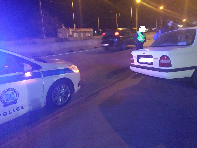 Αγρίνιο: διπλό τροχαίο σε παράδρομο της εθνικής οδού