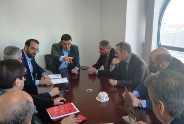 Σύσκεψη με Κικίλια στο γραφείο του περιφερειάρχη- συζήτηση και για το νοσοκομείο Αγρινίου