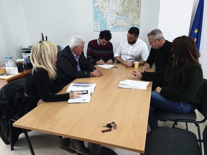 Υπογράφτηκε η σύμβαση για την μελέτη παράκαμψης του Εμπεσού