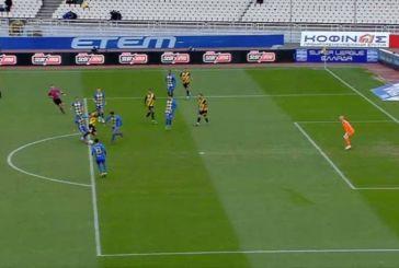 AEK-Παναιτωλικός: Η οριακή φάση του πέναλτι που προκαλεί αντιδράσεις στο Αγρίνιο!