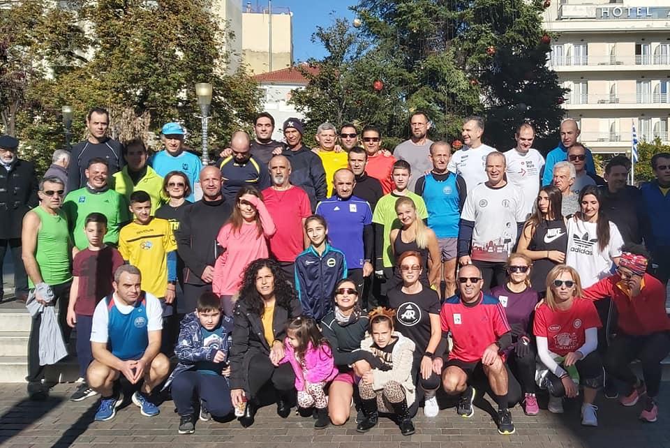 "Aγρίνιο: πρωτοχρονιάτικο τρέξιμο στο κέντρο της πόλης για ""καλή δρομική χρονιά"""