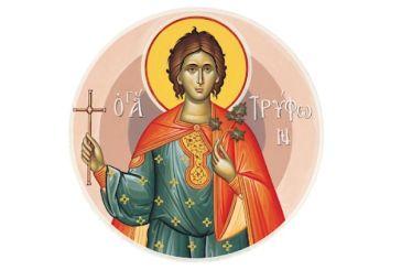 Αγρυπνία προς τιμήν του Αγίου Τρύφωνος στον Ι.Ν. Αγίας Τριάδος Αγρινίου