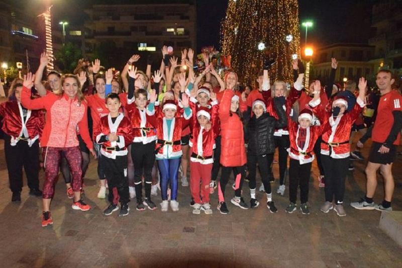 Ευχαριστίες της ΕΛΕΠΑΠ Αγρινίου για το 1st Agrinio Night Run and Santa Run