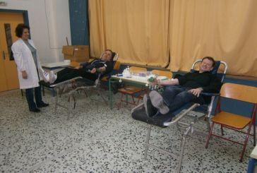 Aιμοδοσία στο 12ο Δημοτικό Σχολείο Αγρινίου: δίδαξαν εθελοντισμό και αλληλεγγύη