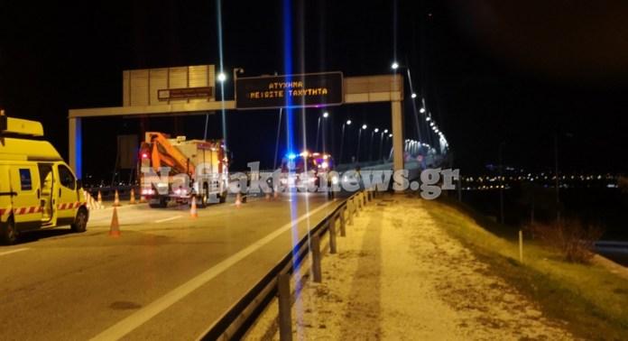 Ανατροπή αυτοκινήτου στη Γέφυρα Ρίου – Αντιρρίου (φωτο & video)