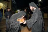 Αγρυπνία με υποδοχή του δεξιού πέλματος της Αγίας  Ελένης στον Ιερό Ναό Αγίου Γερασίμου Κεφαλοβρύσου