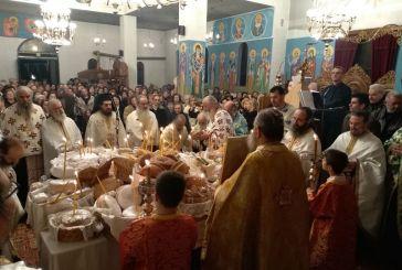 Με λαμπρότητα πανηγύρισε ο Ιερός Ναός Αγίου Αντωνίου Αγρινίου