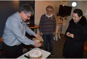 Η Φιλοτελική Εταιρεία Αγρινίου έκοψε την πίτα της