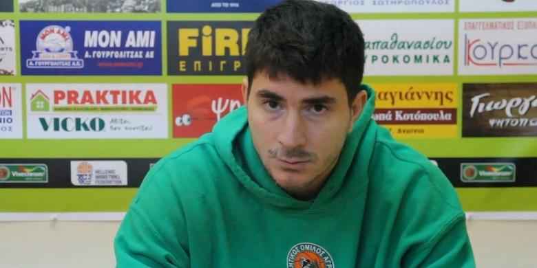 Μ. Γιαννακίδης (ΑΟ Αγρινίου): Να ακολουθήσουμε το πλάνο των προπονητών