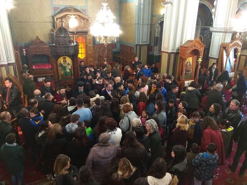 Ο εορτασμός των Τριών Ιεραρχών στην Μητρόπολη Αιτωλίας και Ακαρνανίας (φωτο)