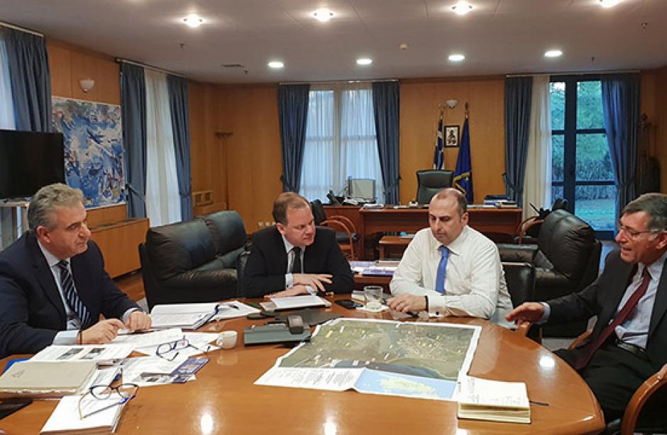 Το Υπουργείο Υποδομών ανακινεί το θέμα της Υποθαλάσσιας Ζεύξης Λευκάδας