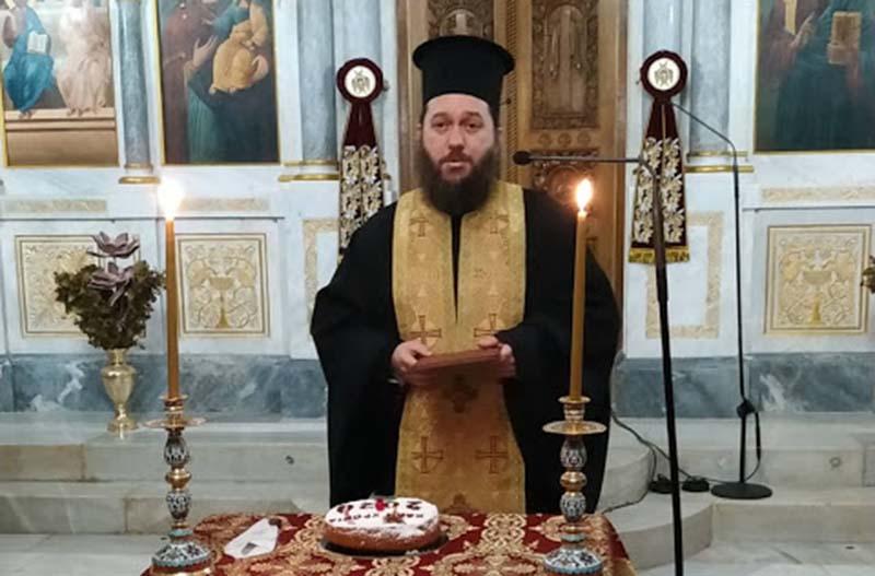 Έκοψε την πίτα της η ενορία Αγίας Τριάδος Αγρινίου (φωτο)