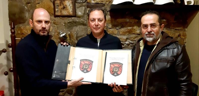 """Επίσκεψη του Σπ. Λιβανού στον σύλλογο """"Οι φίλοι της Μουσικής Δ. Σολωμός"""""""