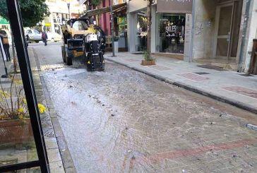 Μόνο πλημμυρισμένος μπορεί να μην έχει μηχανάκια ο πεζόδρομος Μπουκογιάννη!