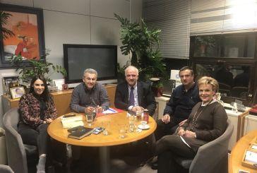 Με στελέχη του ΟΤΕ για την εγκατάσταση οπτικών ινών συναντήθηκε ο Δήμαρχος Μεσολογγίου