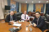 Έθεσε τα θέματα του δήμου Αγρινίου στον Υπουργό Υποδομών ο Γ.Παπαναστασίου