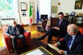 Συνάντηση Κ. Λύρου με τον Πρέσβη της Ιταλίας