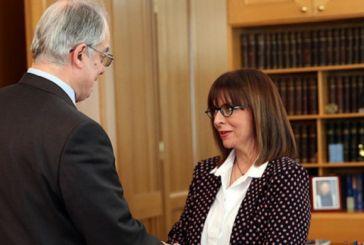 Αικατερίνη Σακελλαροπούλου μετά την εκλογή της -«Προτεραιότητα η ασφάλεια και η οικονομική ανάπτυξη»