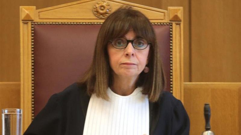 Αικατερίνη Σακελλαροπούλου: Η πρώτη δήλωση της υποψήφιας Προέδρου της Δημοκρατίας
