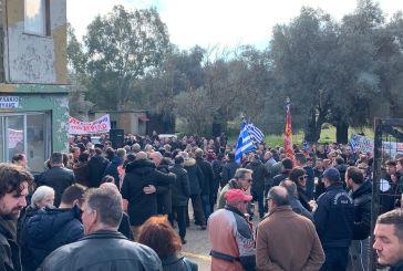 """""""Όχι νέα Μόρια στον Άγριλο"""": συλλαλητήριο- μήνυμα ενάντια στο κέντρο φιλοξενίας μεταναστών-προσφύγων"""