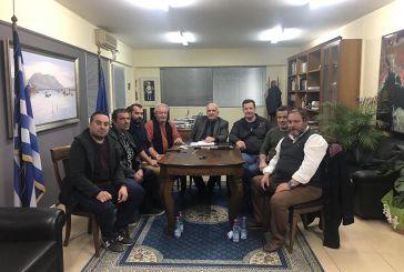 Συνάντηση του Δημάρχου Μεσολογγίου με τον Σύλλογο Πανηγυριστών «Ο Άη Συμιός»
