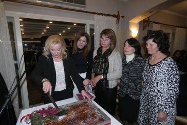 Έκοψε την πίτα του ο Σύλλογος Γυναικών Καλυβίων