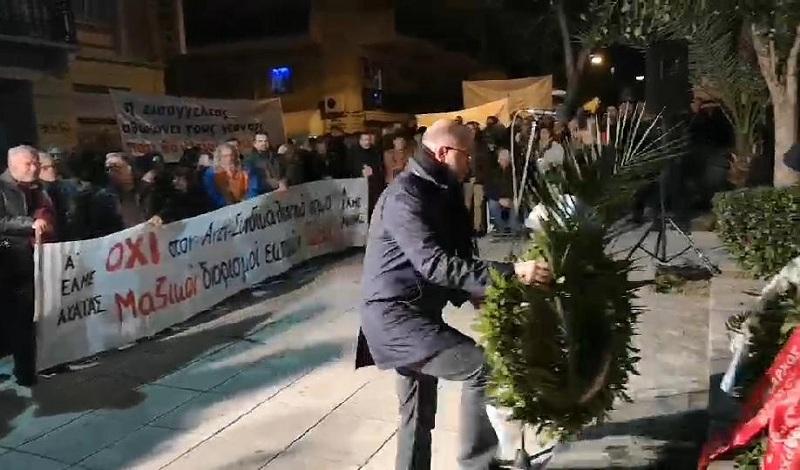 Η Περιφέρεια Δυτικής Ελλάδας στην εκδήλωση μνήμης για τον Ν. Τεμπονέρα