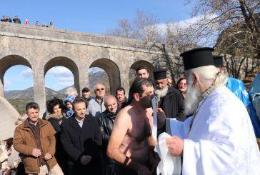 Πολύς κόσμος και συγκίνηση στον Αγιασμό των Υδάτων στη γέφυρα Τέμπλας!