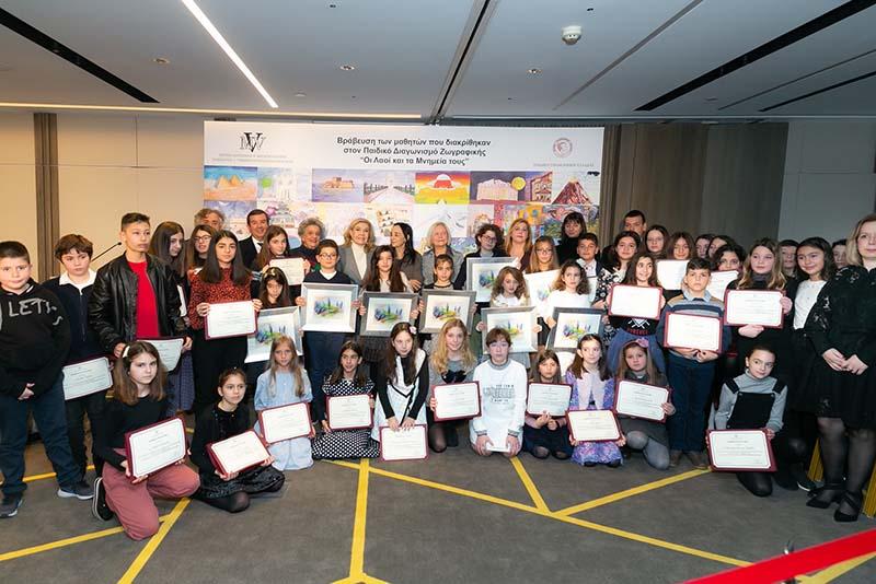 Βράβευση μαθητών από το Λουτρό και την Μπούκα Αμφιλοχίας σε πανελλήνιο διαγωνισμό ζωγραφικής (φωτο)