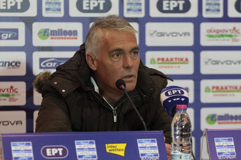 Κύπελλο: Η συνέντευξη Τύπου του Παναιτωλικός – ΑΕΚ 1-1