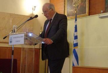 Oμιλία στο Αγρίνιο: «Η ανθρώπινη και η θεία δικαιοσύνη και ο ρόλος του δικαστού»