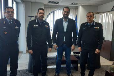 Στον Περιφερειάρχη  η νέα ηγεσία Πυροσβεστικών Υπηρεσιών Δυτικής Ελλάδας