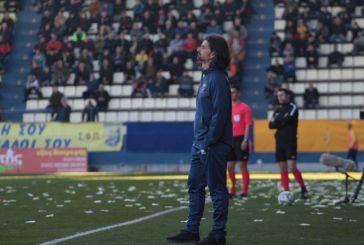 Κοροπούλης:Το ματς κρίθηκε στην ποιότητα των παικτών του Παναιτωλικού