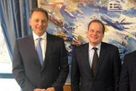 Αρδευτικό Μακρυνείας και άλλα κρίσιμα ζητήματα σε νέα συνάντηση Σπήλιου Λιβανού με τον Υπουργό Υποδομών