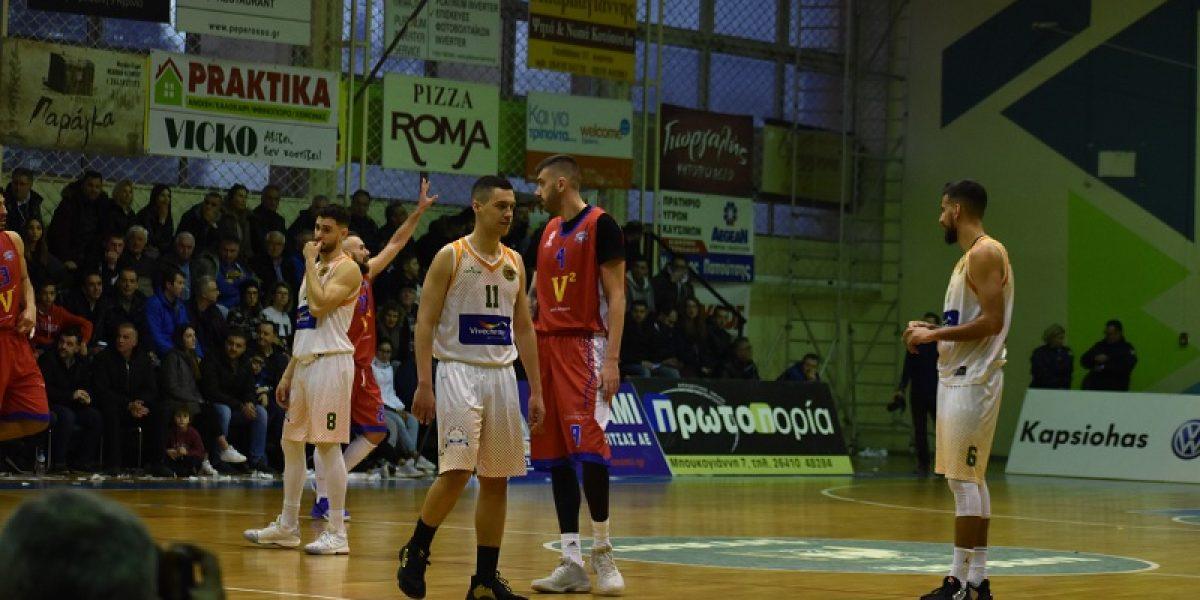 Μπάσκετ: ο Τρικούπης λύγισε στο τέλος τον ΑΟ Αγρινίου στο αιτωλοακαρνανικό ντέρμπι (80-85)