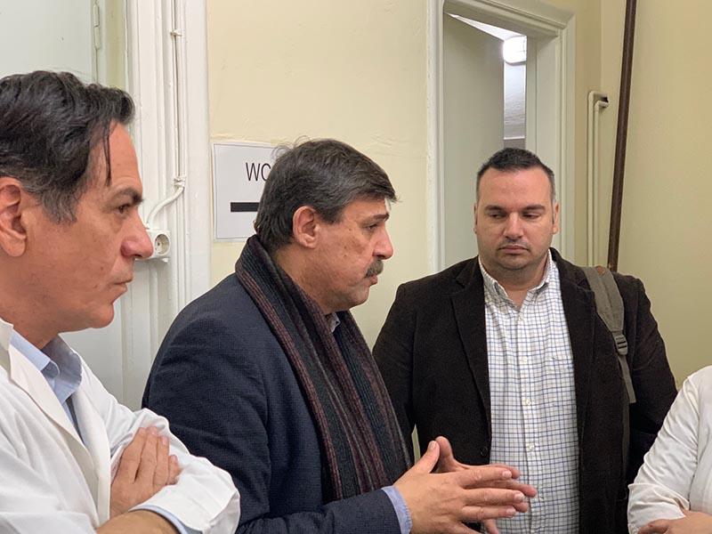 ΣΥΡΙΖΑ: Στο Αγρίνιο ο Ανδρέας Ξανθός για «προοδευτικό μέτωπο για την υπεράσπιση της δημόσιας περίθαλψης»