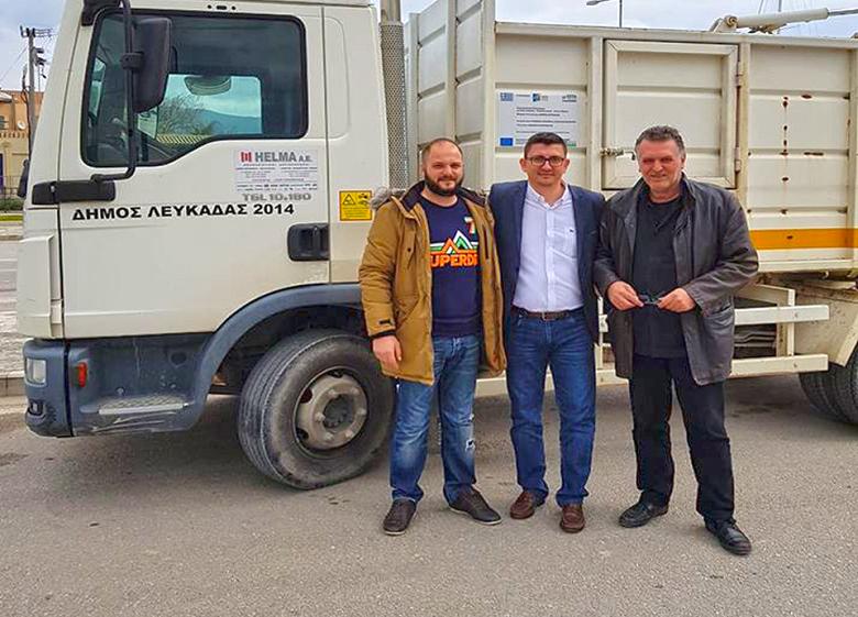 Δήμος Ξηρομέρου: παρέλαβε δύο απορριμματοφόρα από το δήμο Λευκάδας για δύο μήνες