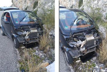 Eκτροπή οχήματος σε σημείο -παγίδα του δρόμου Μύτικας-Αστακός