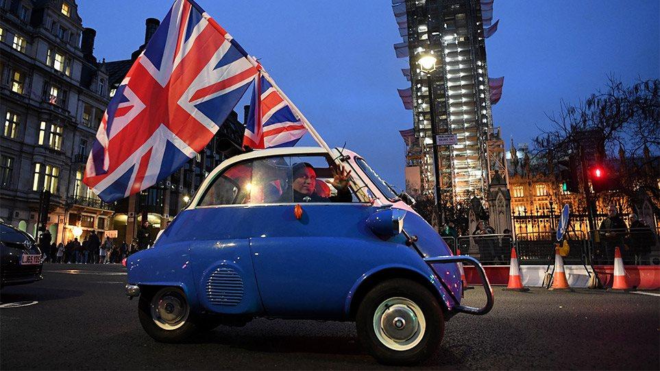 Brexit: Τέλος χρόνου – Η Βρετανία δεν είναι πια μέλος της ΕΕ – Η επόμενη μέρα