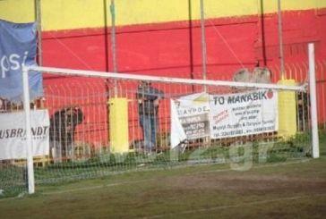 Εγινε κι αυτό σε ελληνικό γήπεδο: Έπεσε το δοκάρι στη διάρκεια αγώνα!