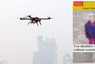 Κορωνοϊός: Σαν από ταινία -Drones κυνηγούν πολίτες που δεν φορούν μάσκα στην Κίνα και τους λένε να πάνε σπίτια τους!