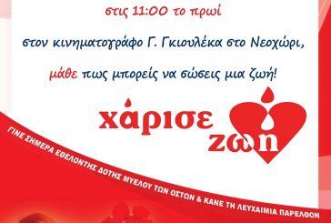 Ενημερωτική εκδήλωση στο Νεοχώρι για τη δωρεά μυελού των οστών