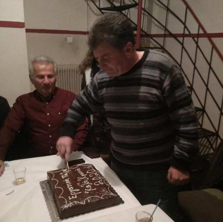 Έκοψε την πίτα της στο Αγρίνιο η Εργατική Πάλη Οικοδόμων (φωτο)