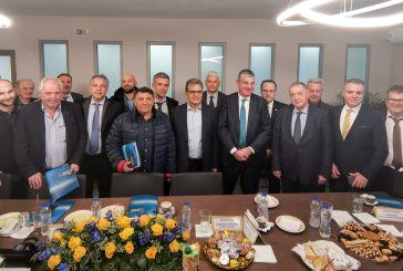 Παρουσία του Υφυπουργού Ανάπτυξης και Επενδύσεων η πίτα της Διαχειριστικής Ευρωπαϊκών Προγραμμάτων